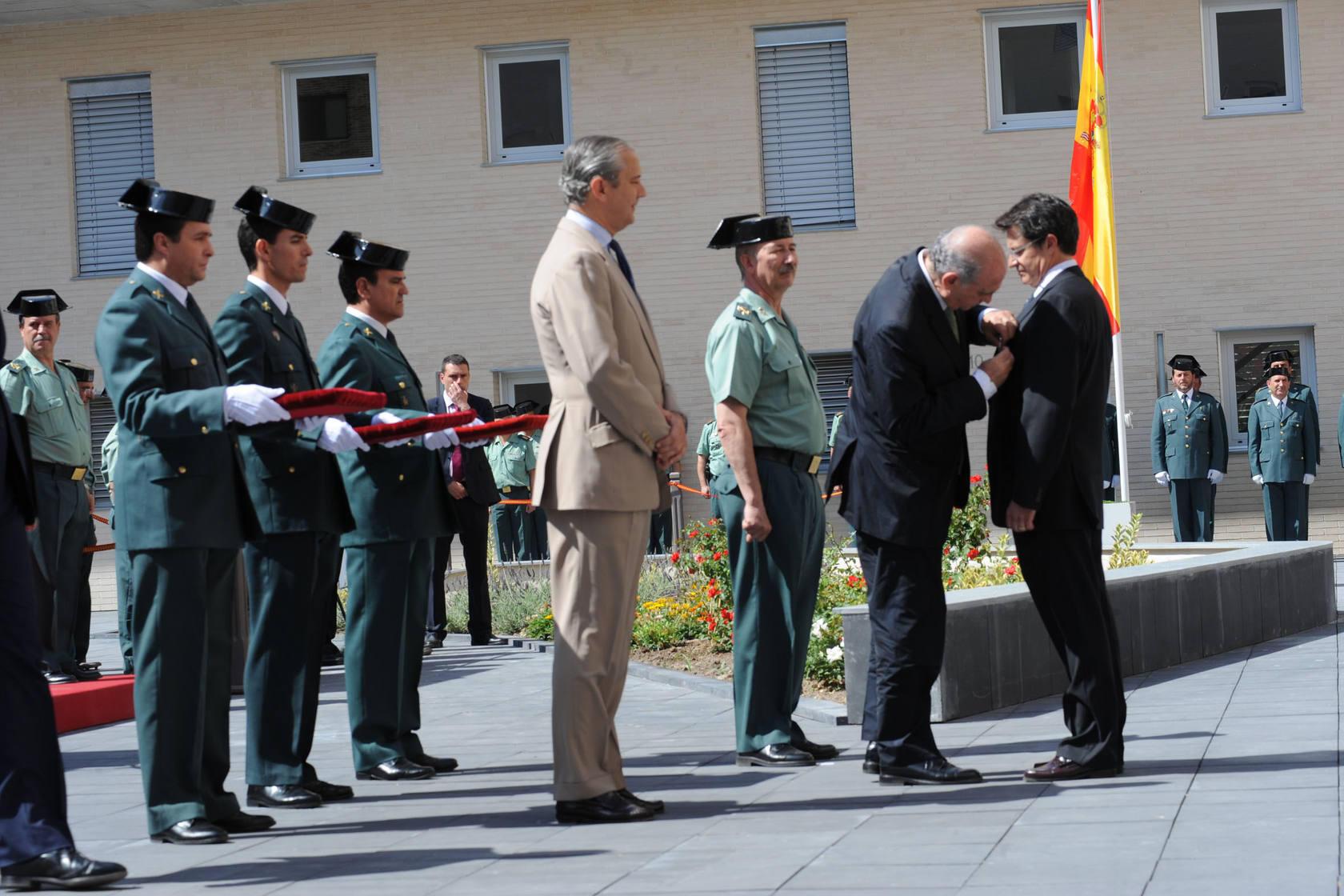 Fernández Díaz inaugura el nuevo cuartel de la Guardia Civil de Lorca