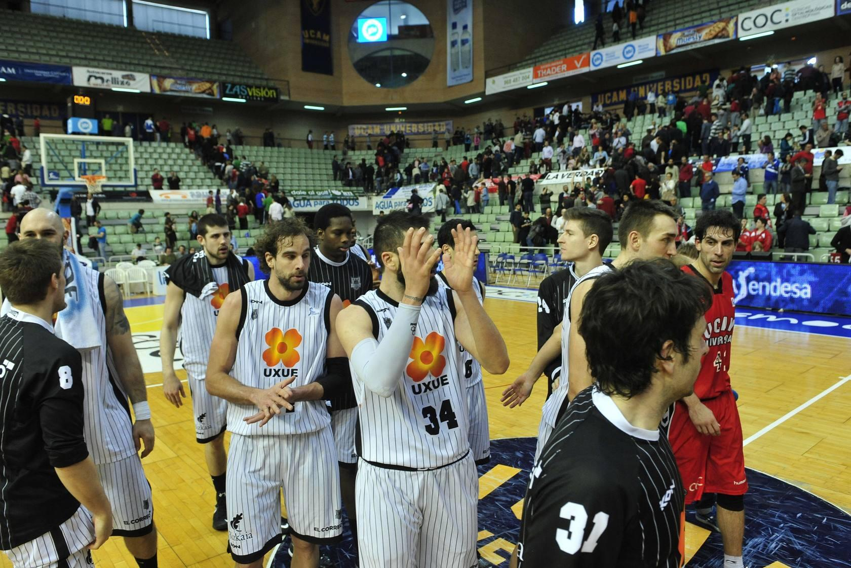 UCAM CB Murcia-Bilbao Basket (77-80)