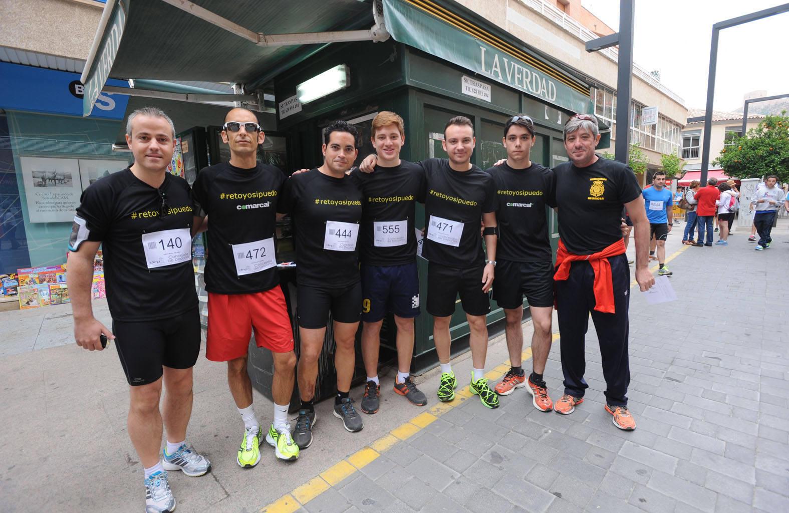Un millar de atletas participan en la carrera solidaria 'Corre x Lorca'