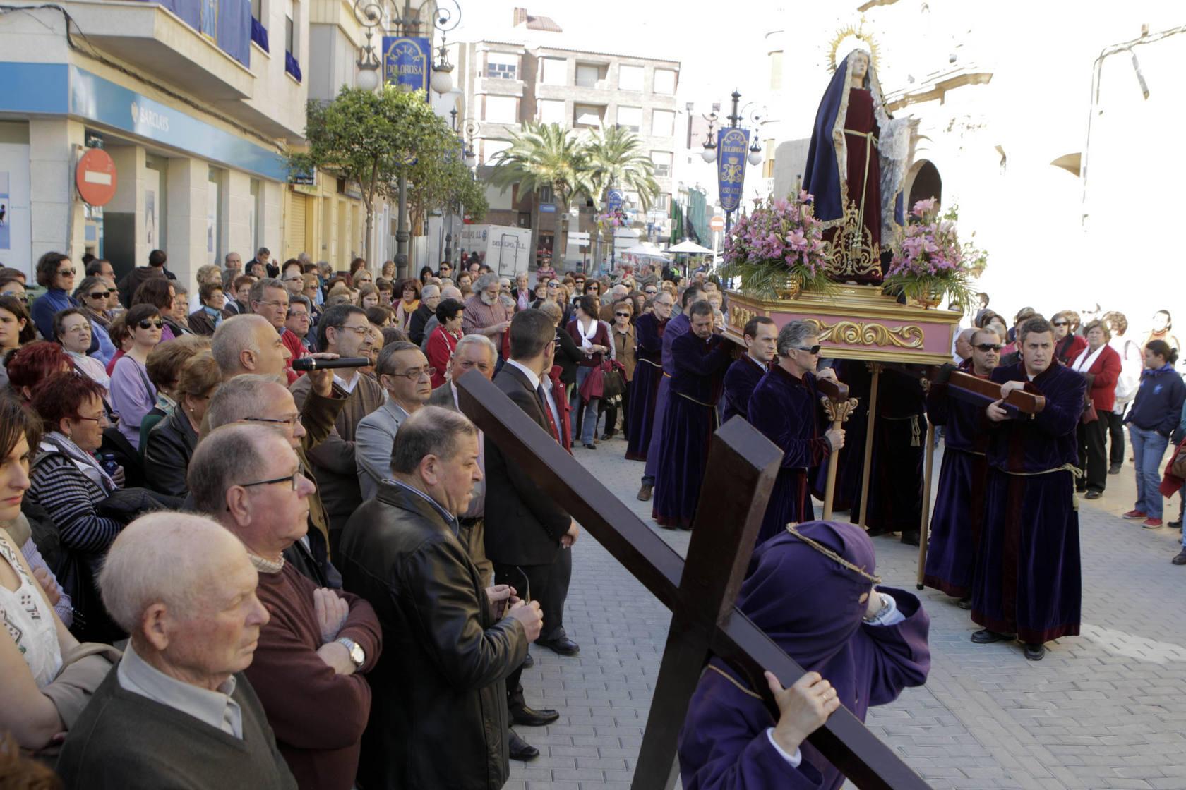 Vía crucis al Calvario en Lorca