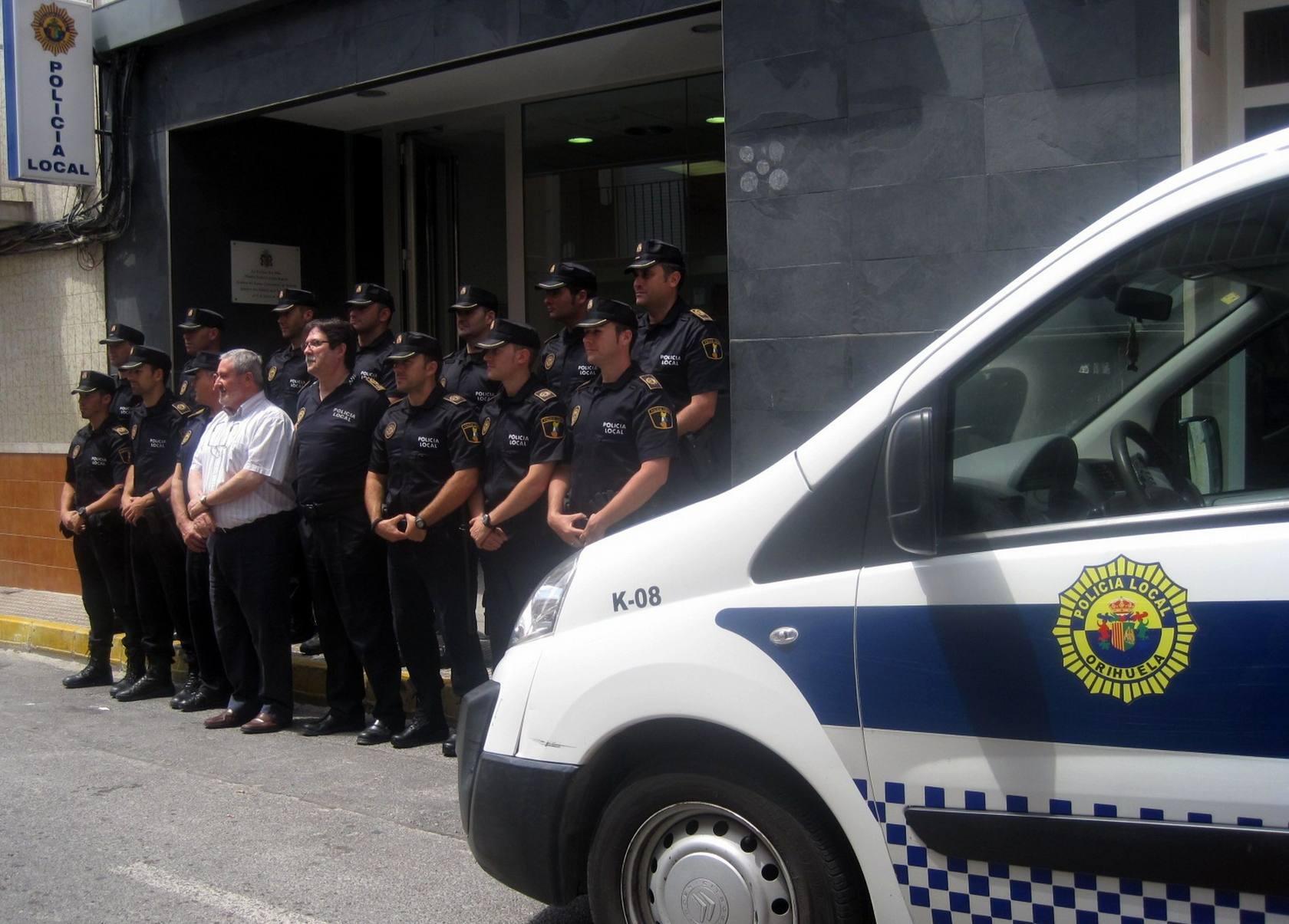 La Policía Local vuelve a los barrios de Orihuela