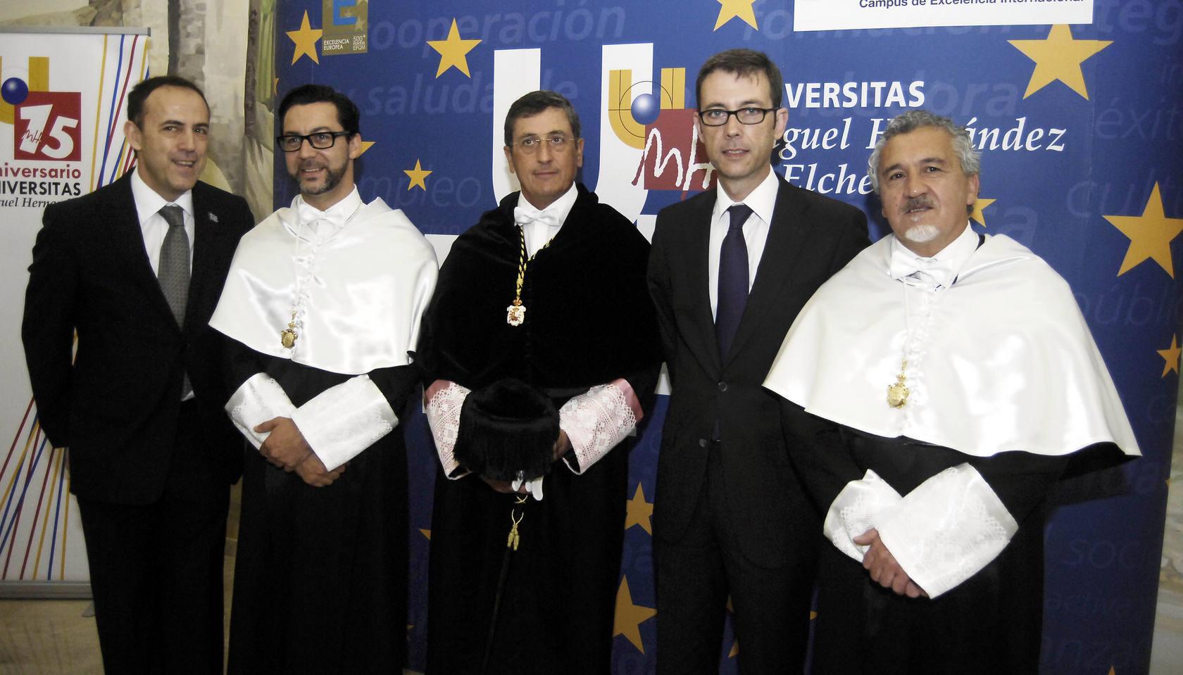 Dacosta y Torreblanca, doctores Honoris Causa por la UMH