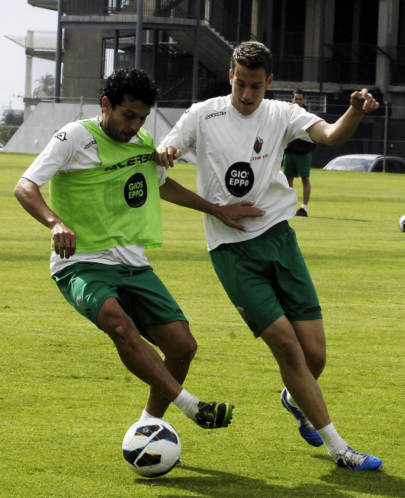 Entrenamiento del Elche CF