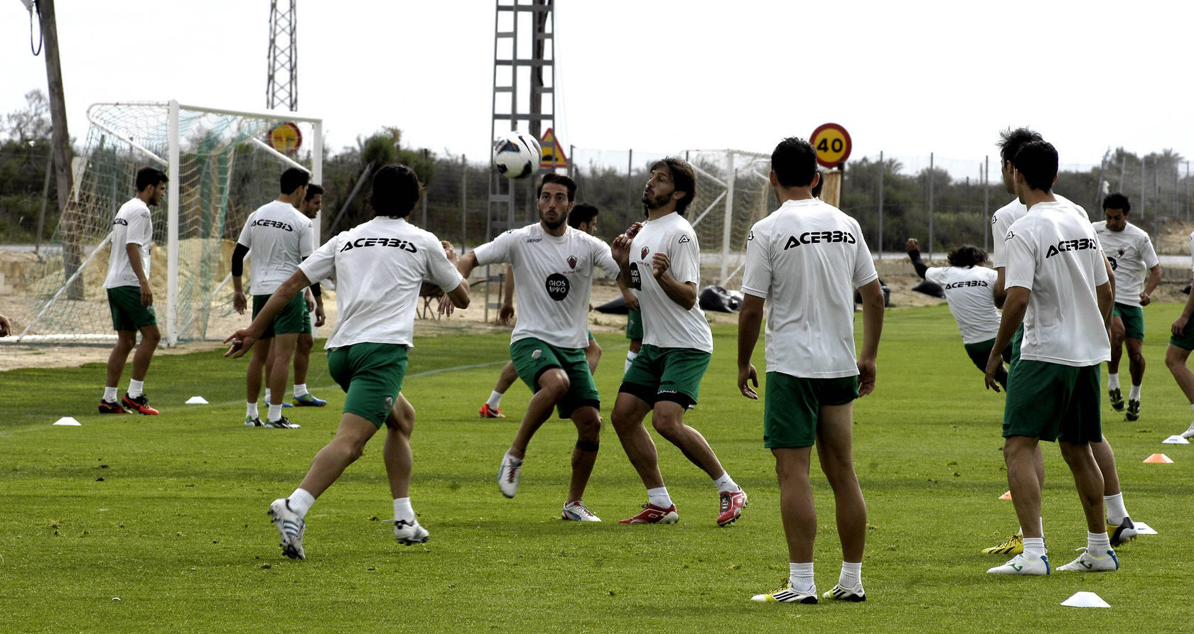 Entrenamiento del Elche