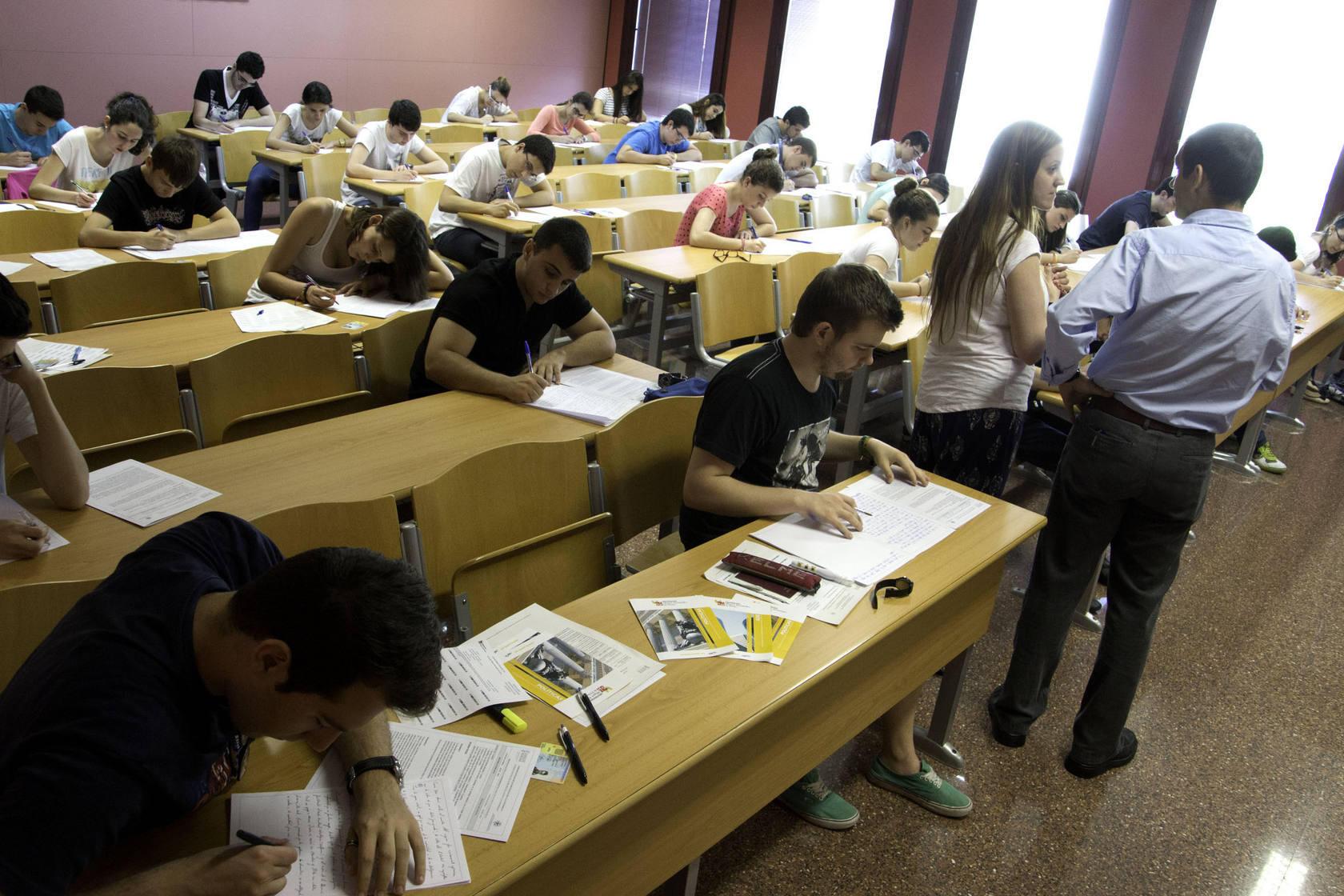 Arrancan las Pruebas de Acceso a la Universidad