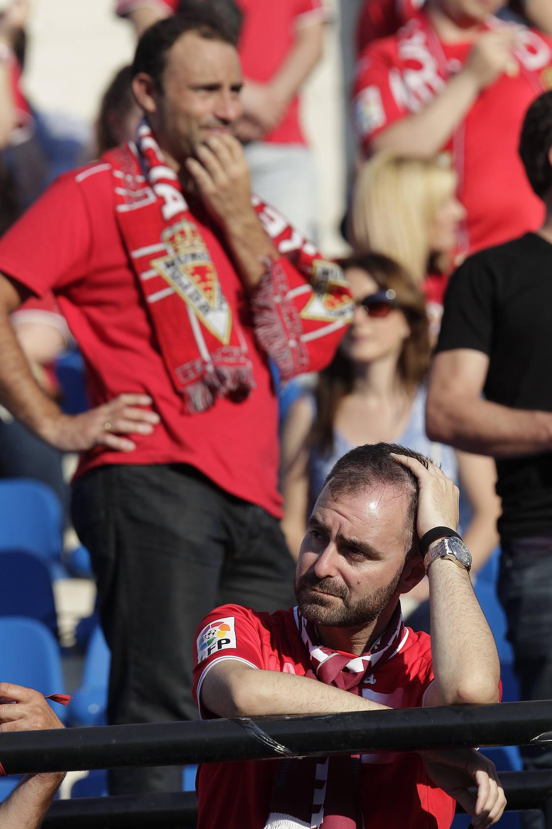El Murcia gana en la confirmación de su descenso a Segunda B