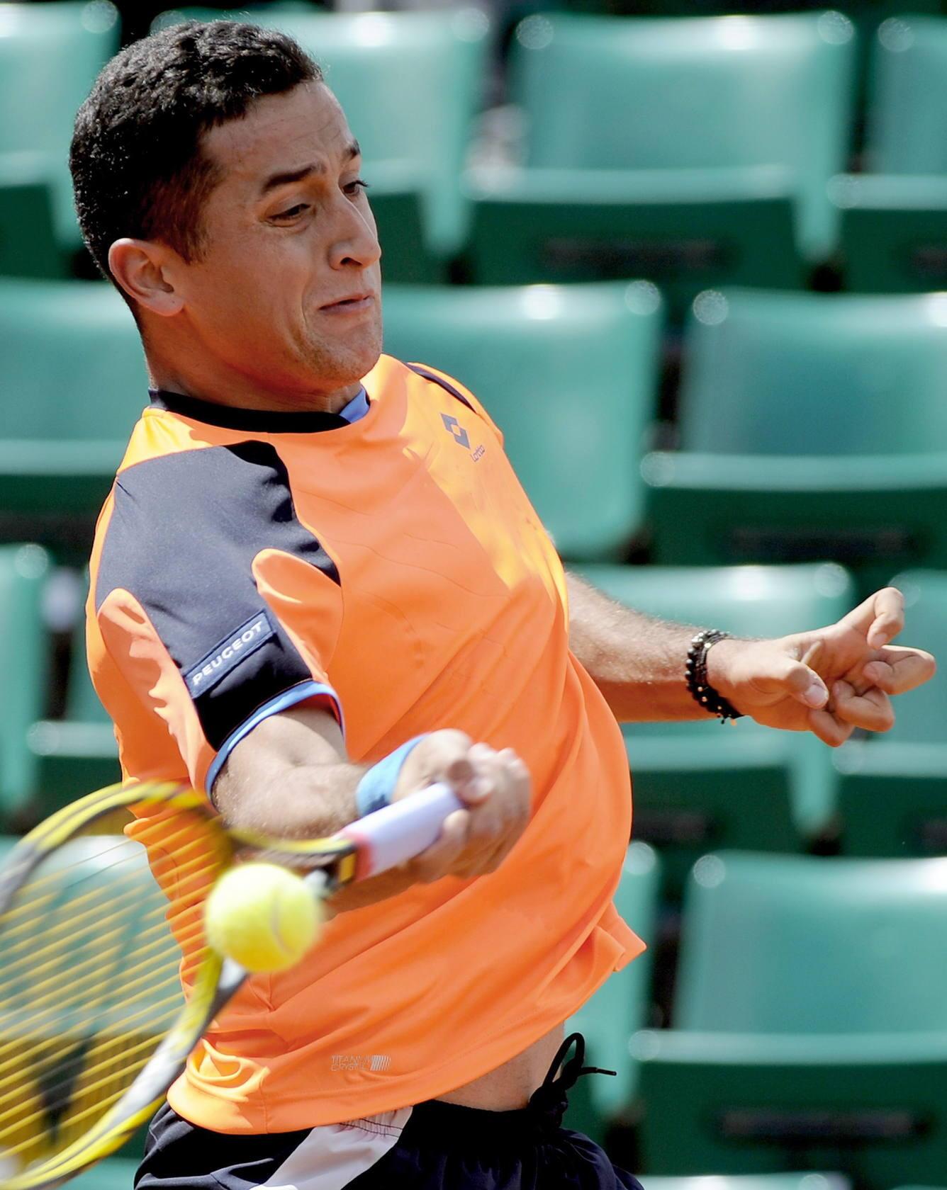 Almagro en el torneo de Roland Garros 2013
