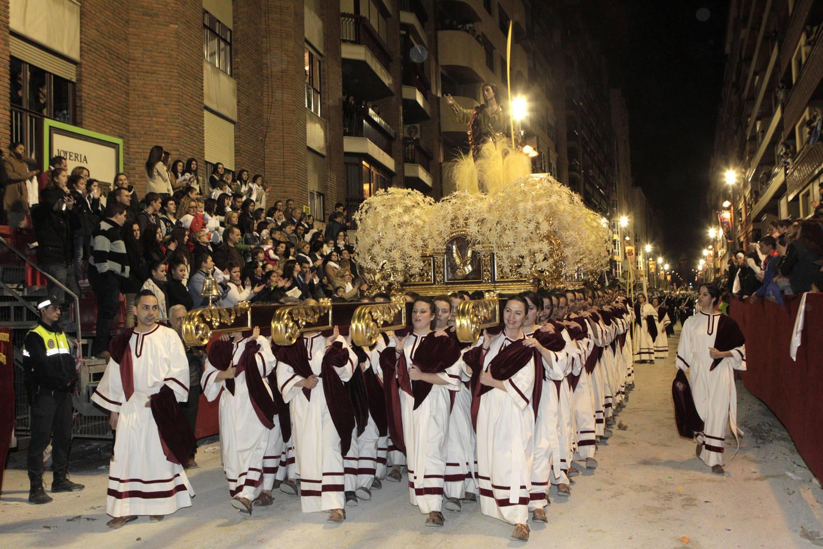 Procesión de las Palmas en Lorca