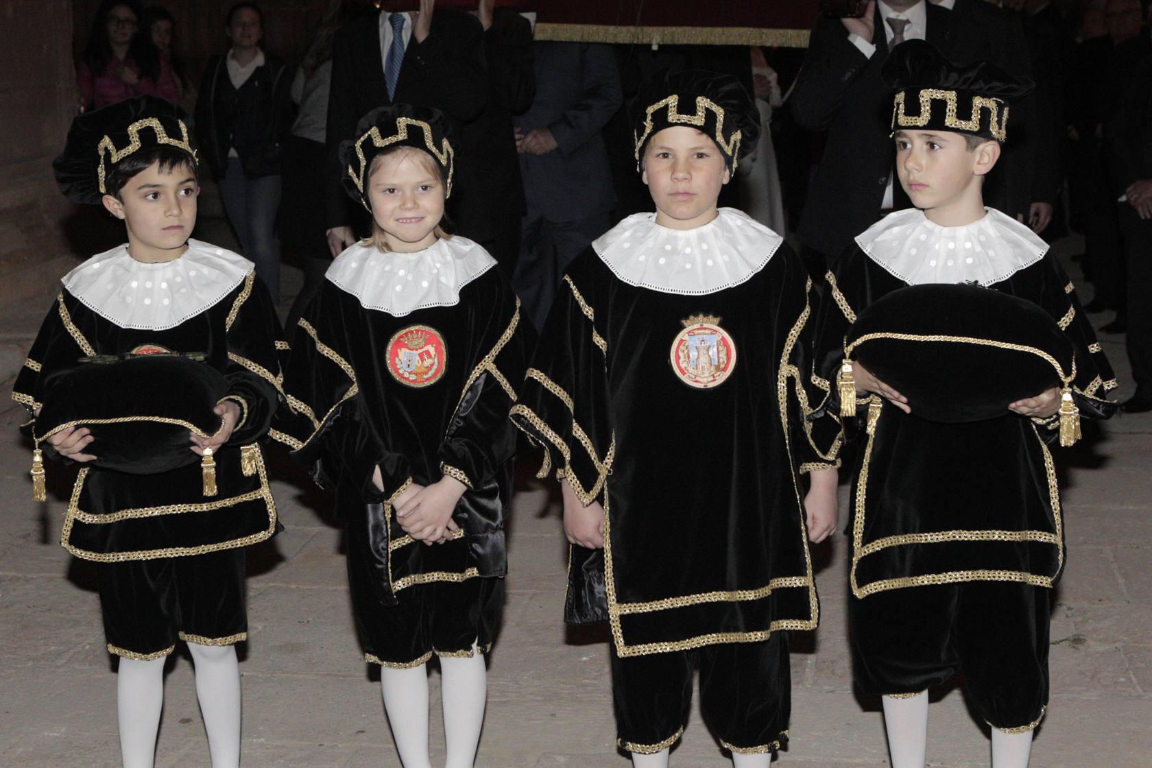 Procesión de la Hermandad de la Curia en Lorca
