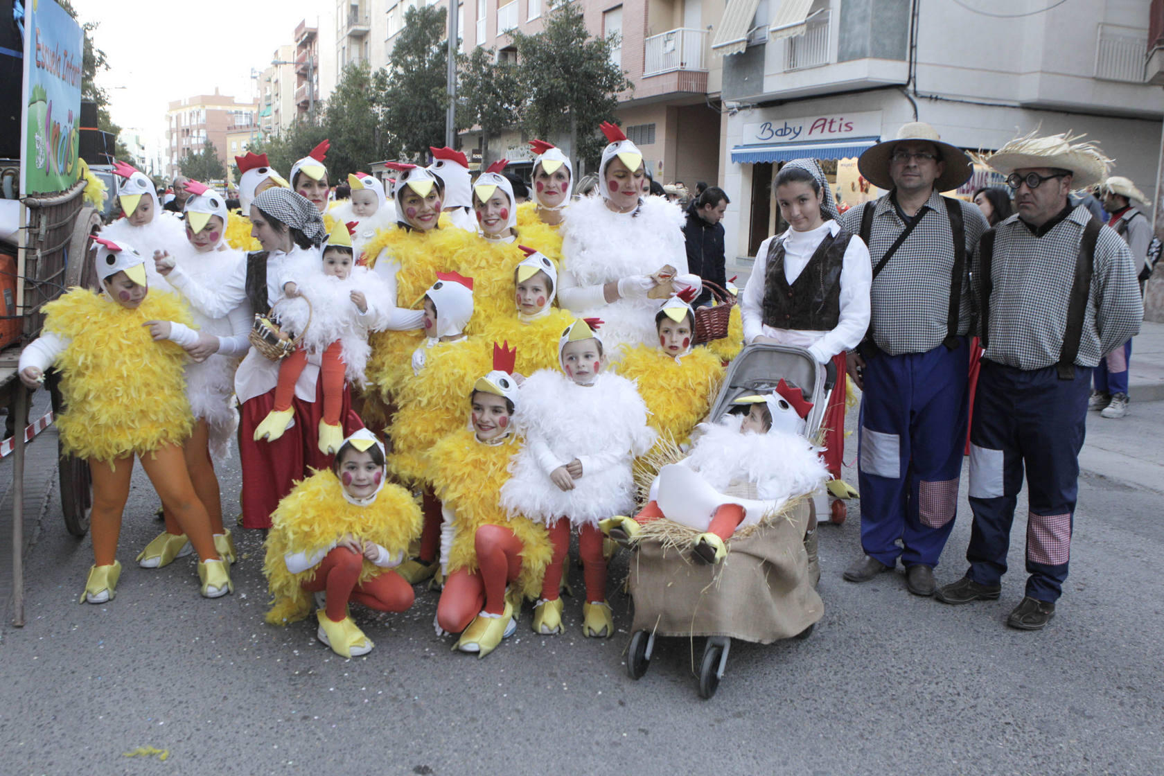 Sábado de Carnaval en Lorca
