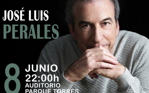 Jose Luis Perales en Parque Torres (8 Junio)
