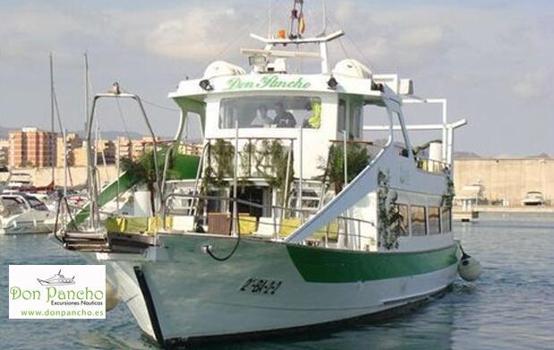 Paseo en barco de una hora en Águilas