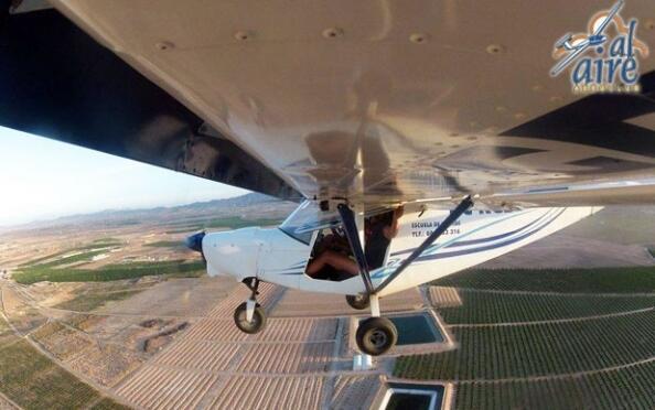 Paseo en avioneta o autogiro