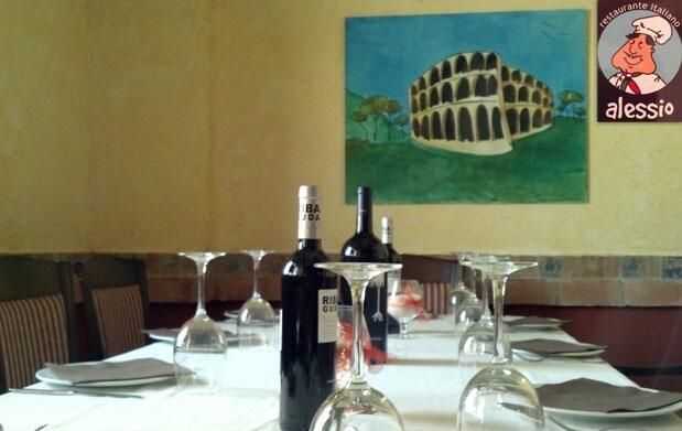 Completo menú italiano en Alessio