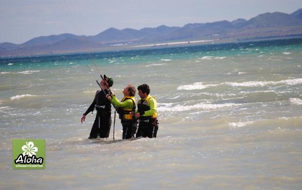 Curso de kitesurf en la mejor escuela