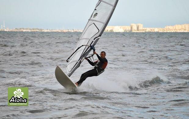 Iniciación al windsurf, curso de 2 horas