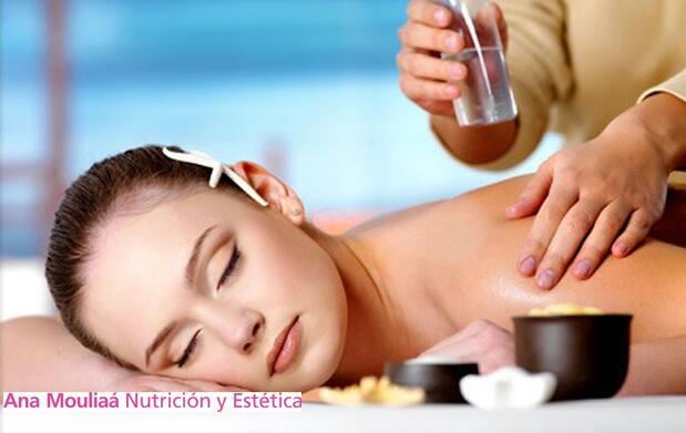 Ritual Navidad: masaje aceites y esencias