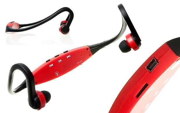 Auriculares deportivos con Mp3 y radio FM