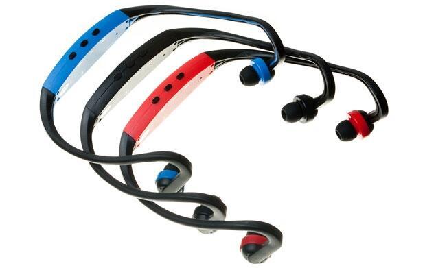 Auriculares MP3 sport con radio FM