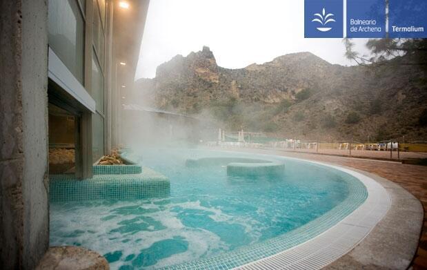 Balneario de Archena: spa piscinas termales
