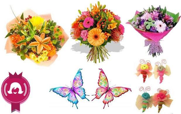 Bouquet de flores para el Día de la Madre