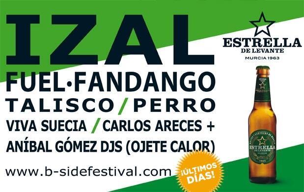 ¡Últimas horas! B-Side: Izal, Fuel Fandango.