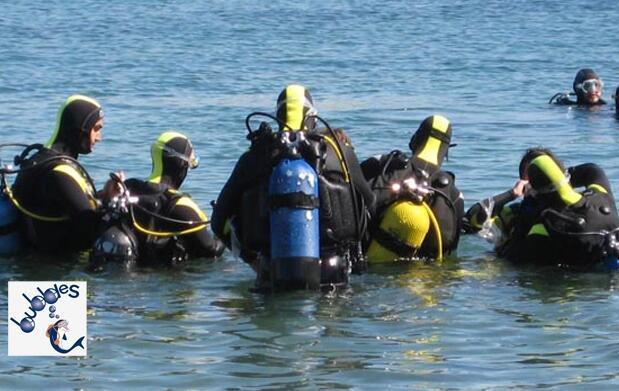 Bautismo de buceo Cartagena o Torrevieja