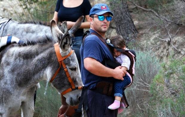 Senderismo con burros: floración y norias