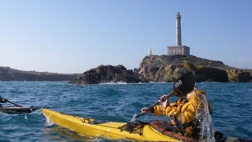 Travesía en Kayak en Cabo de Palos o el Mar Menor