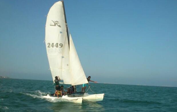Alquiler de catamarán en Los Alcázares