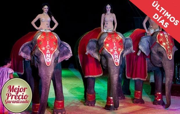 Cartagena: Gran Circo Americano 8-18 mayo
