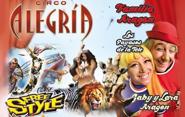 Plan infantil: circo de la familia Aragón
