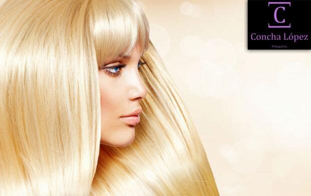 Tinte, corte, oro o keratina y peinado