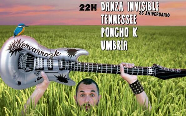 Cuervarrozk 2017: Danza Invisible, Tennessee y más