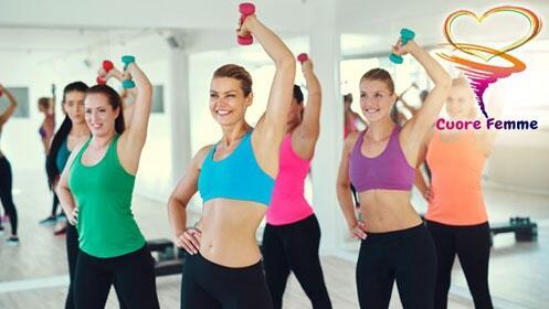 1 mes de gimnasio para mujeres