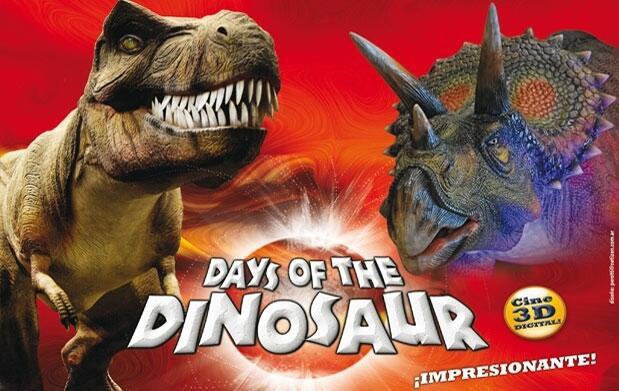 Megaexposición interactiva de Dinosaurios