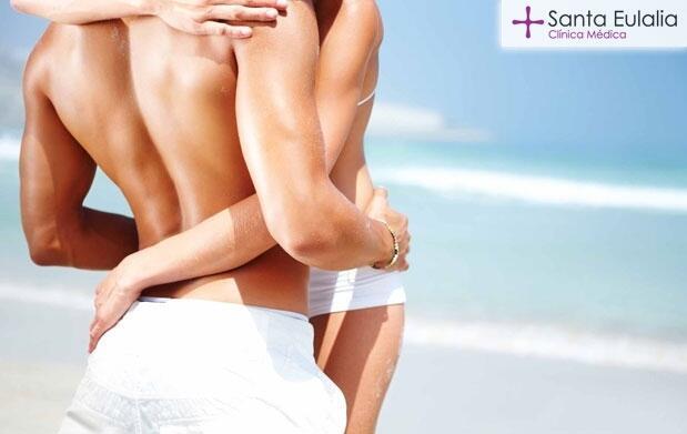 3 depilaciones médicas IPL ELIGHT unisex