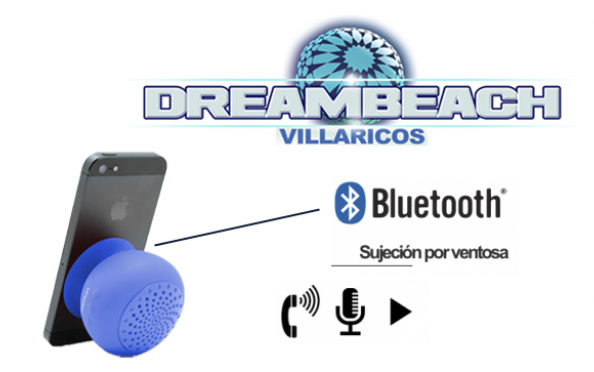 Altavoz + 2 Abonos Dreambeach o Weekendbeach
