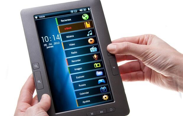 Ebook ultralight de 7 pulgadas con funda