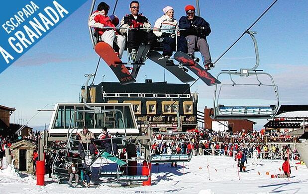 Curso y/o material de esquí en Granada