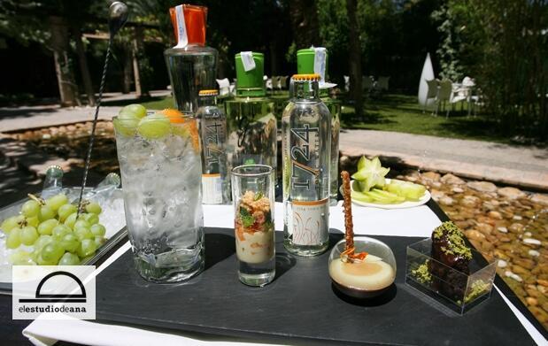Maridaje de gin tonics y 3 tapas de autor