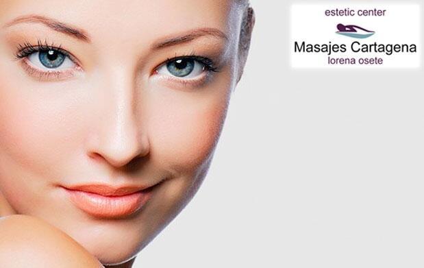 Higiene facial con dermoabrasión y más