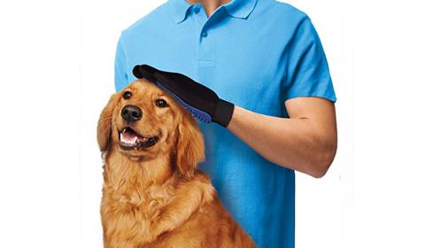 Guante Quita pelos y masaje Mascotas