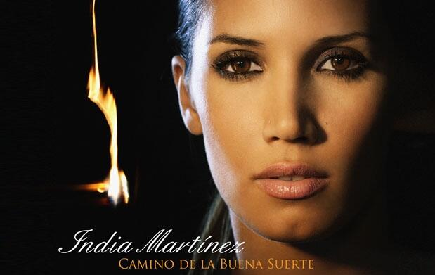 India Martínez en concierto
