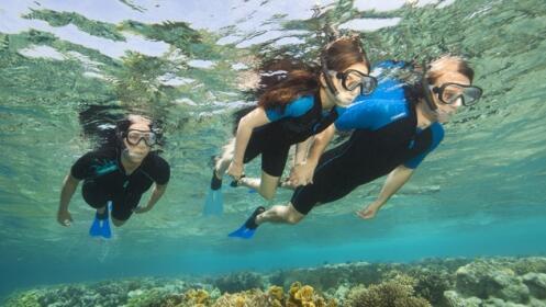 Iniciación y travesía kayak + snorkel