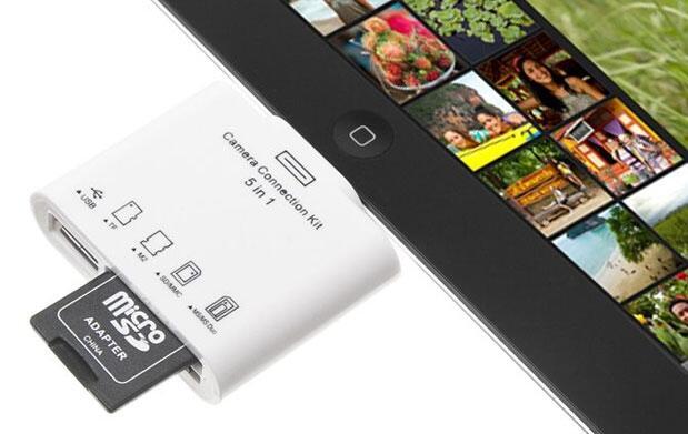 Adaptador 5 en 1 para iPad