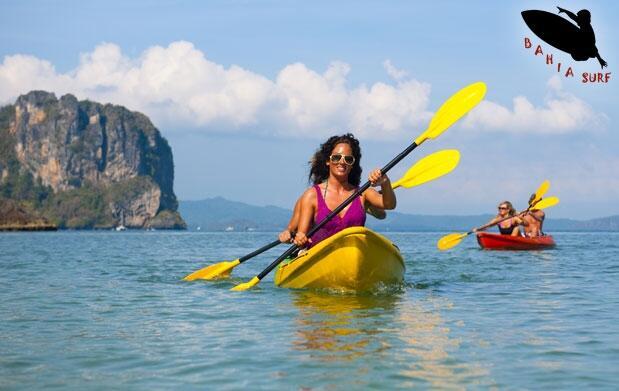 Travesía en kayak por la Bahía de Mazarrón.