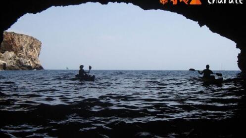 Kayak de Mar + snorkel