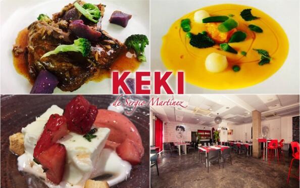Keki de Sergio Mart�nez: men� cocina de autor