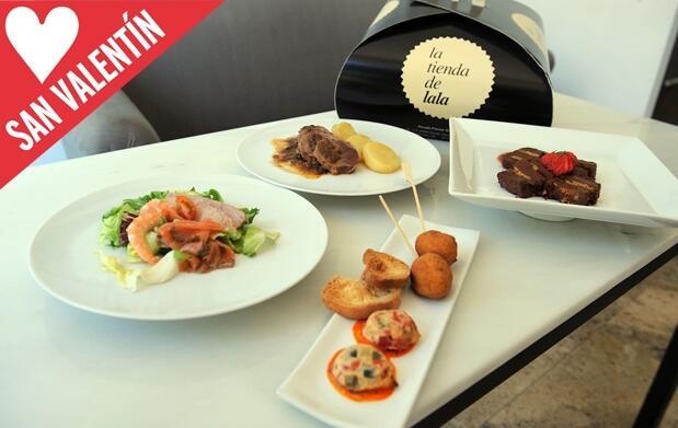 Catering gourmet: San Valentín en casa